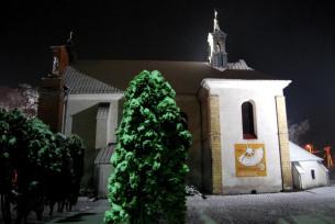 Kościół św. Marcina zimą