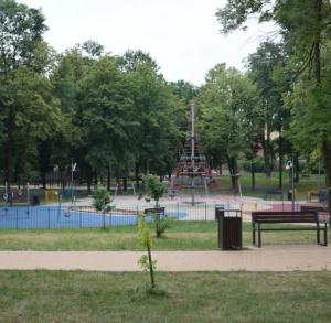 Park miejski w Jędrzejowie