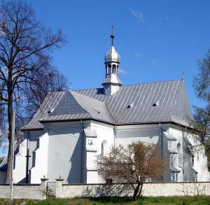 Zespół kościoła parafialnego p.w. św. Stanisława w Sobkowie