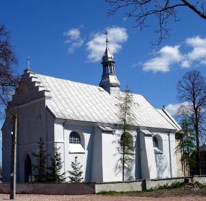Kościół parafialny p.w. Wniebowzięcia Najświętszej Marii Panny w Mokrsku Dolnym