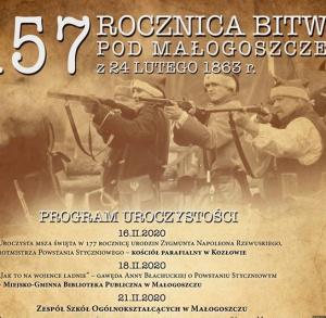 157. rocznica Bitwy pod Małogoszczem
