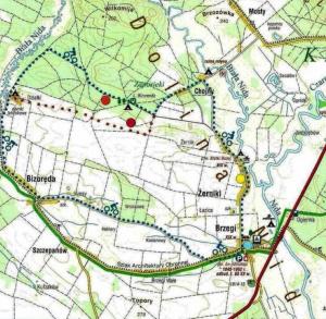 Rekreacyjno-historyczna-przyrodnicza ścieżka rowerowa w Brzegach