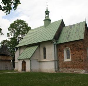 Zespół kościoła p.w. św. Jakuba Starszego z XIII wieku w Mieronicach