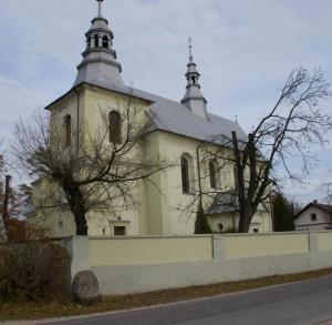 Kościół Wszystkich Świętych w Złotnikach