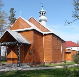 Kościół parafialny p.w. Podwyższenia Krzyża Świętego w Trzcińcu