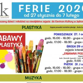 Ferie 2020 w powiecie jędrzejowskim