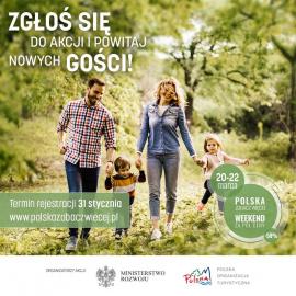 """Zapisy do marcowej edycji """"Polska zobacz więcej - Weekend za pół ceny"""" zakończone!"""
