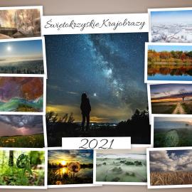 """Kalendarz 2021 """"Świętokrzyskie krajobrazy"""""""