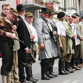 Rekonstrukcja odbicia żołnierzy AK z siedziby Gestapo odbyła się w Jędrzejowie.