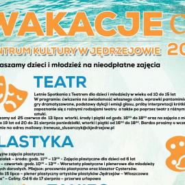Wakacyjne zajęcia w CK w Jędrzejowie